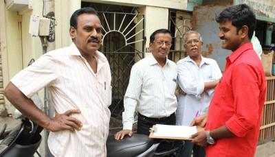 சென்னை சர்வேயில் பங்கெடுத்த மக்கள்