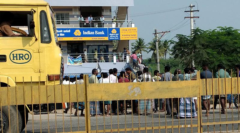 ocheri-indian-bank-protest1