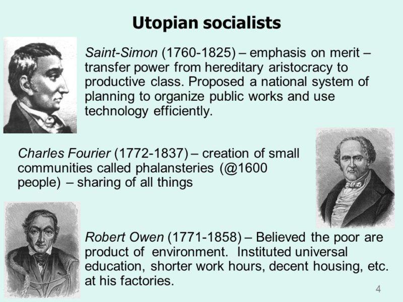 Utopian Socialist