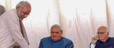 vajpayee with modi