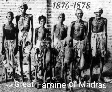 Great Famine of Madras