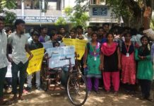 Cuddlore-RSYF-Cauvery-Water-Protest