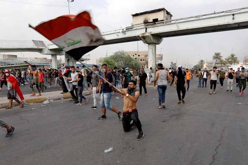 Mass Protest Iraq