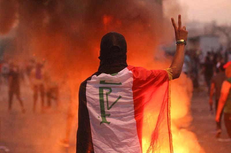 IRAQ-POLITICS-DEMONSTRATION